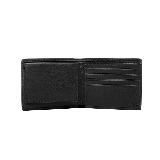 peter-webbers-menswear - BUCKLE 'WILBUR' LEATHER WALLET with RFID PROTECTION - ACCESSORIES