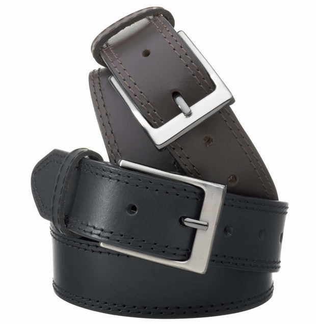 peter-webbers-menswear - MENS McALLISTER FULL GRAIN BUFFALO LEATHER 35MM - ACCESSORIES