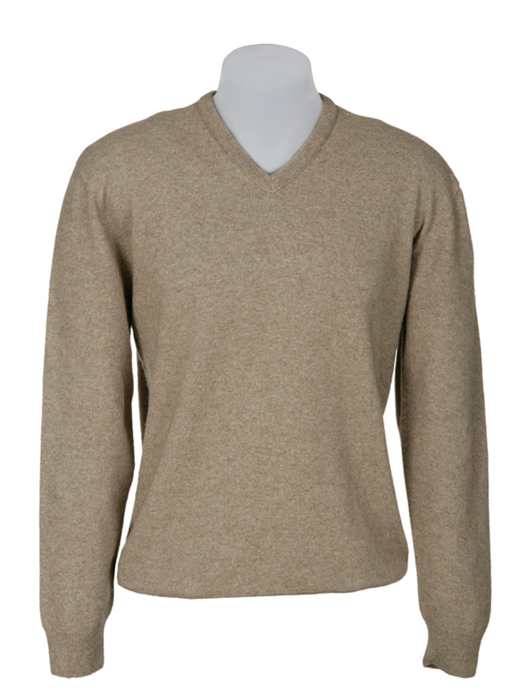 POSSUM VEE NECK PLAIN SWEATER