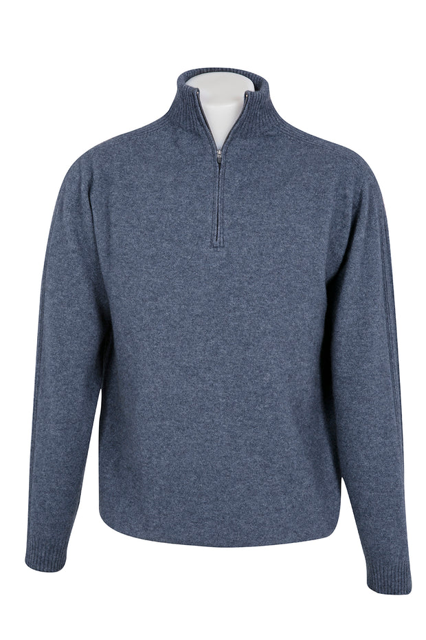 POSSUM LIGHTWEIGHT 1/2 ZIP SWEATER
