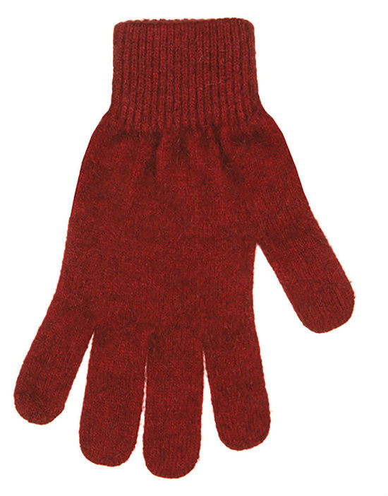 PLAIN POSSUM MERINO GLOVE
