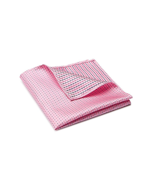 peter-webbers-menswear - POCKET SQUARE MICRO PINK - ACCESSORIES
