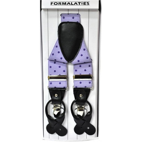 FORMAL BRACES POLKA DOT
