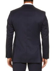 STUDIO ITALIA 'ICON STRETCH' JACKET NAVY
