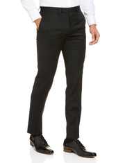 STUDIO ITALIA 'ICON STRETCH' TROUSERS BLACK