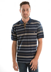 THOMAS COOK ARMSTRONG STRIPE POLO