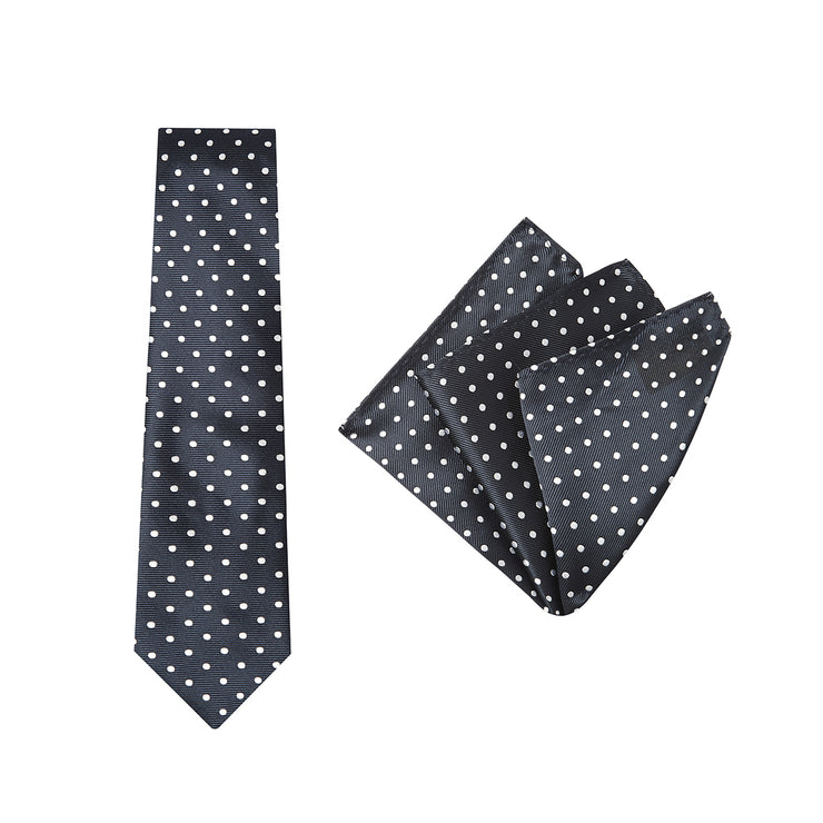 peter-webbers-menswear - TIE & POCKET SQUARE, SPOT - ACCESSORIES