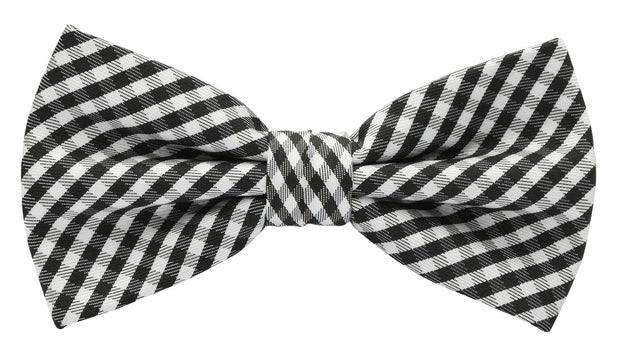 BOW TIE + POCKET SQUARE, VINTAGE, CHECK