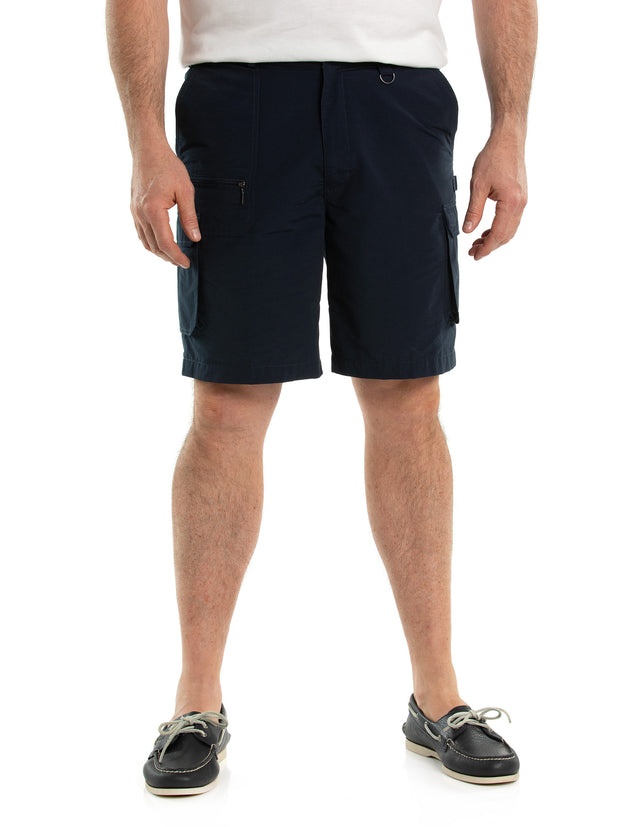 peter-webbers-menswear - WOODBURY CARGO  SHORT INK - CLOTHING