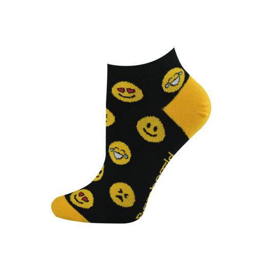 BAMBOO WOMENS EMOJI SOCKS
