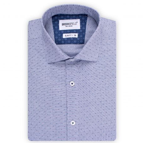 peter-webbers-menswear - SLIM FIT LS SHIRT - CLOTHING