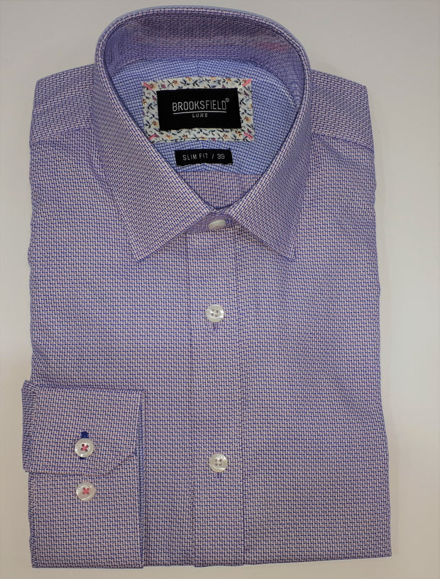 BROOKSFIELD LUXE INTRICATE WEAVE SHIRT