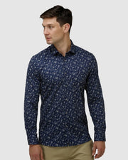 BROOKSFIELD LUX FLORAL PRINT SHIRT