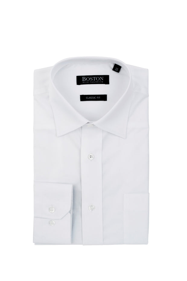 peter-webbers-menswear - BOSTON REGULAR BUSINESS SHIRT - CLOTHING