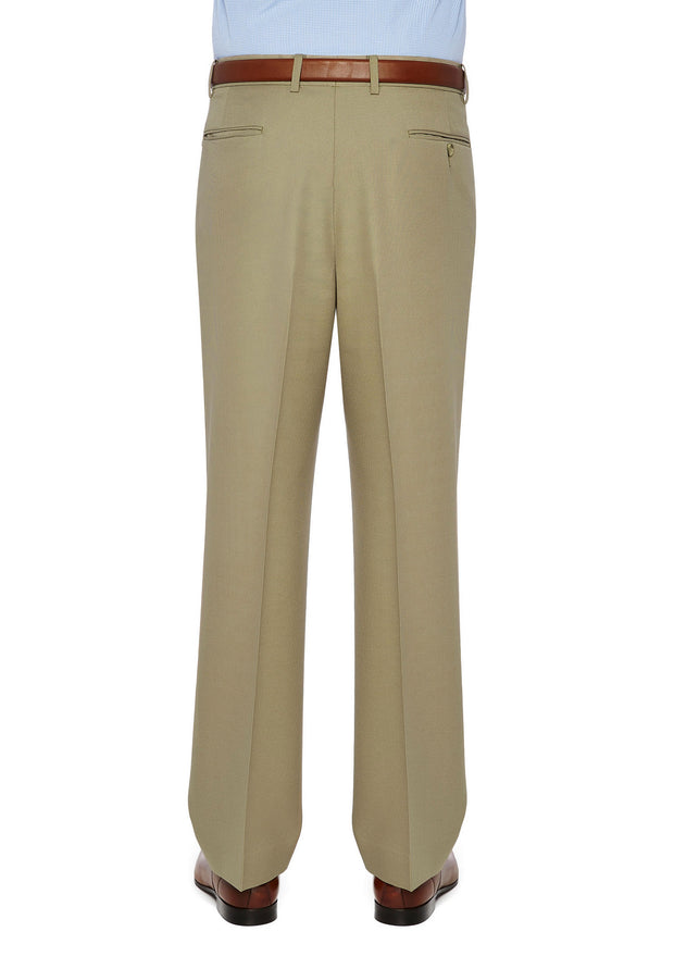 peter-webbers-menswear - DIPLOMAT AVOCA TROUSER BEIGE - CLOTHING