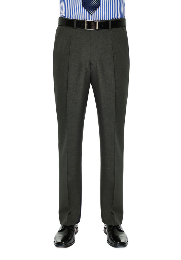 peter-webbers-menswear - DIPLOMAT AVOCA TROUSER CHARCOAL - CLOTHING