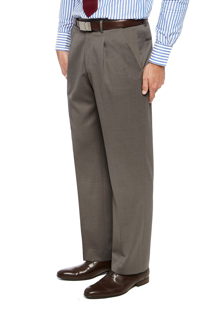 peter-webbers-menswear - FRASER PWLG TROUSER ALMOND - CLOTHING