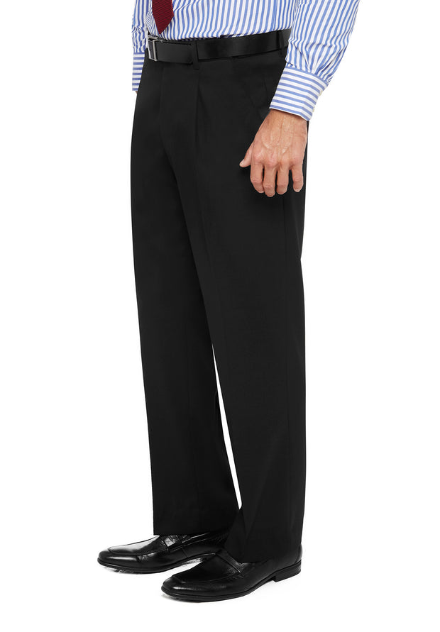 peter-webbers-menswear - DIPLOMAT PWLG TROUSER BLK - CLOTHING