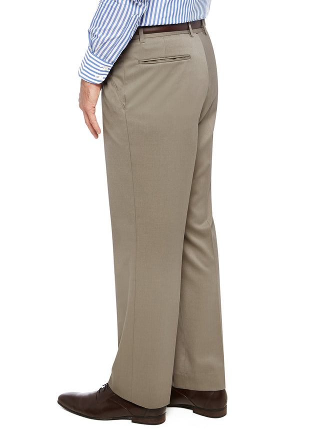 peter-webbers-menswear - FRASER PWLG TROUSER TAUPE - CLOTHING