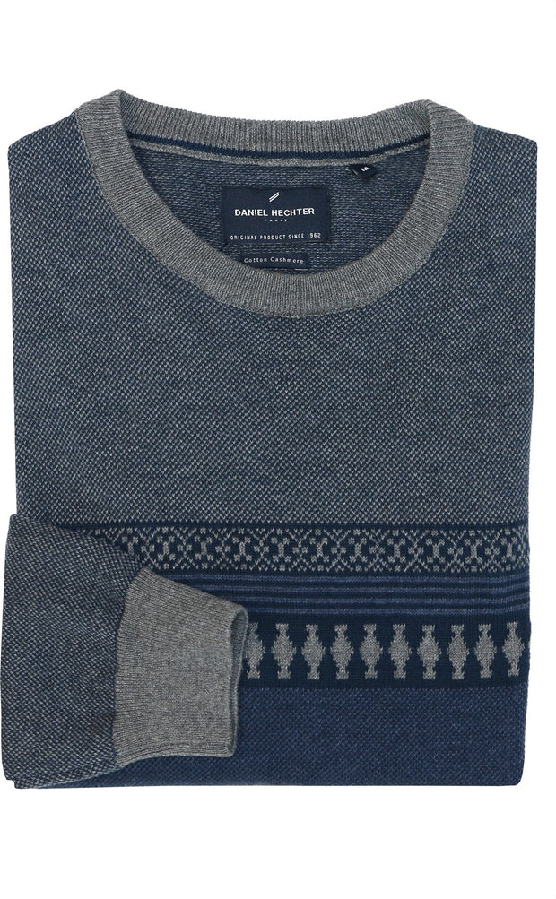peter-webbers-menswear - CREW NECK JUMPER - CLOTHING