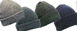 peter-webbers-menswear - FISHERMANS RIB RAGG WOOL BEANIE - ACCESSORIES