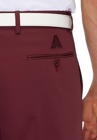 FRASER FLASH BOWLING PANTS - MAROON