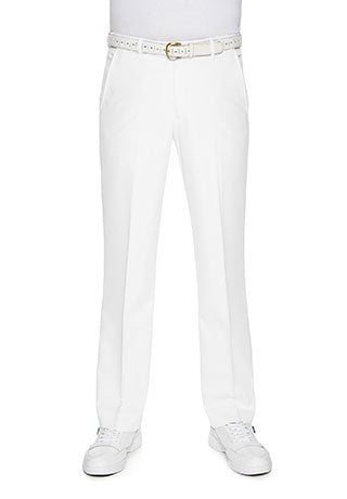 FRASER FLASH BOWLING PANTS - WHITE
