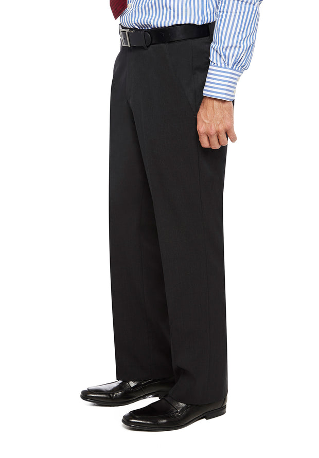 peter-webbers-menswear - FRASER PWLG TROUSER CHARCOAL - CLOTHING