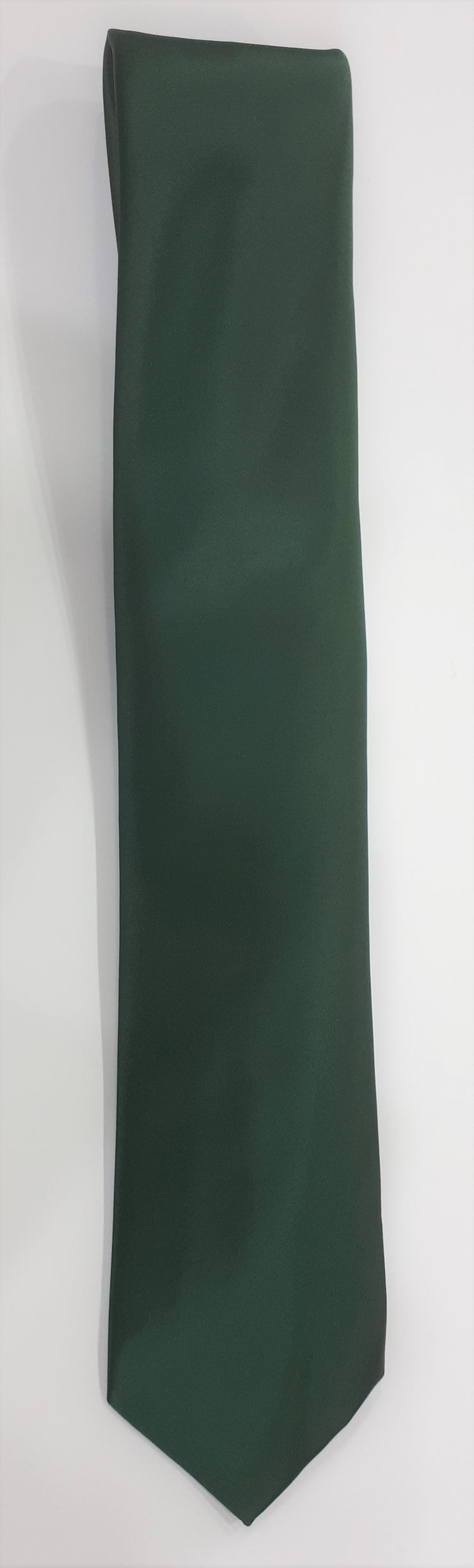 FORMAL SATIN TIE GREEN