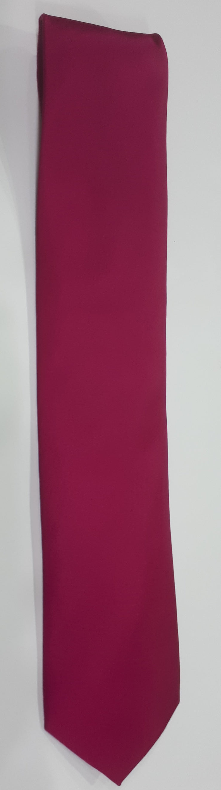 FORMAL SATIN TIE FUSCHIA