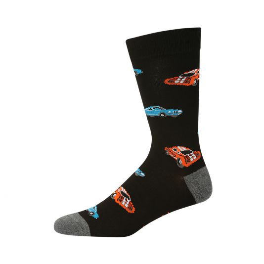 BAMBOO MUSCLE CAR SOCKS