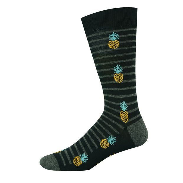 BAMBOO PINEAPPLE STRIPE SOCKS