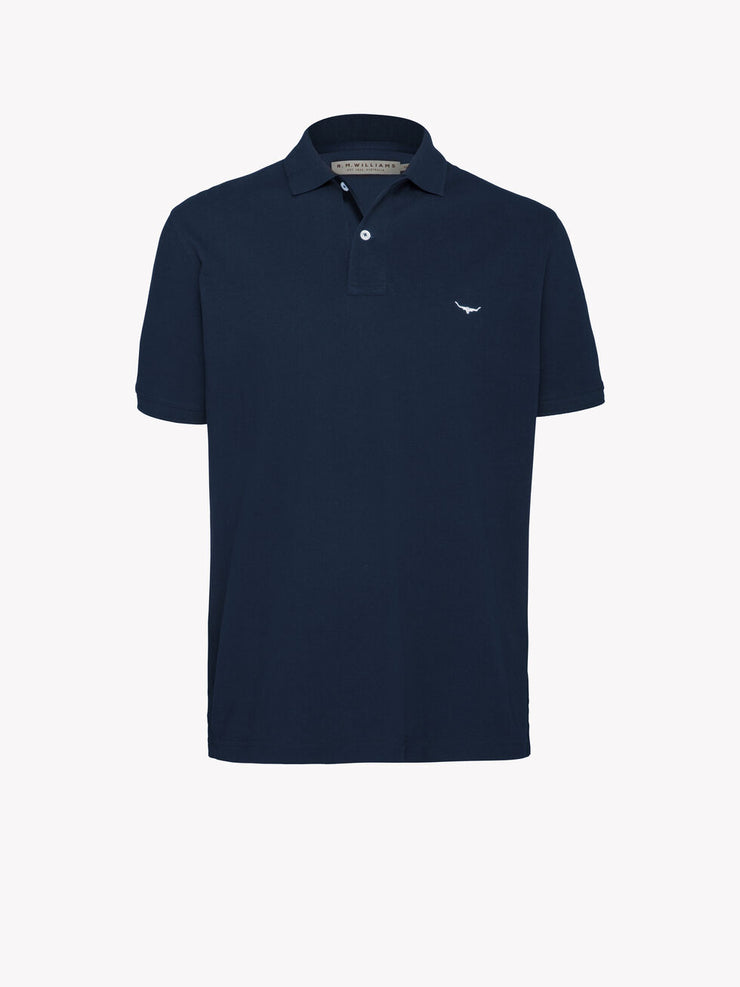 peter-webbers-menswear - ROD POLO NAVY - CLOTHING
