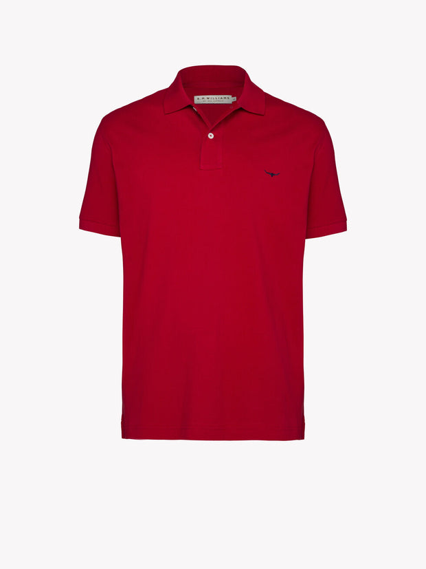 peter-webbers-menswear - ROD POLO RED - CLOTHING