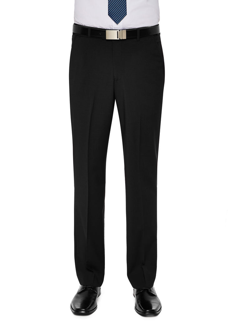 peter-webbers-menswear - SHIMA 1007 TROUSER BLACK - CLOTHING