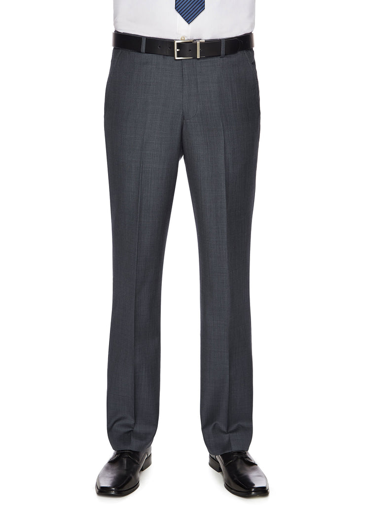 peter-webbers-menswear - SHIMA 1007 TROUSER BLUE - CLOTHING