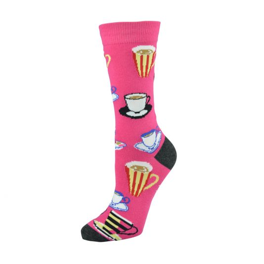 BAMBOO WOMANS CUPPA TEA SOCKS