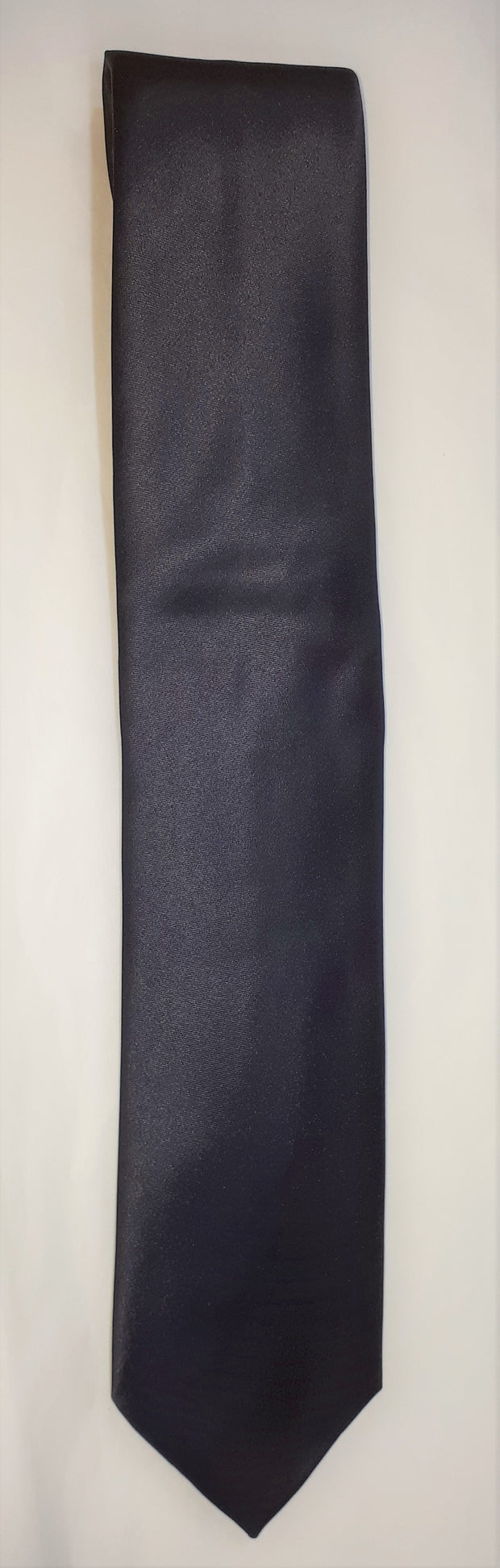FORMAL SATIN TIE NAVY