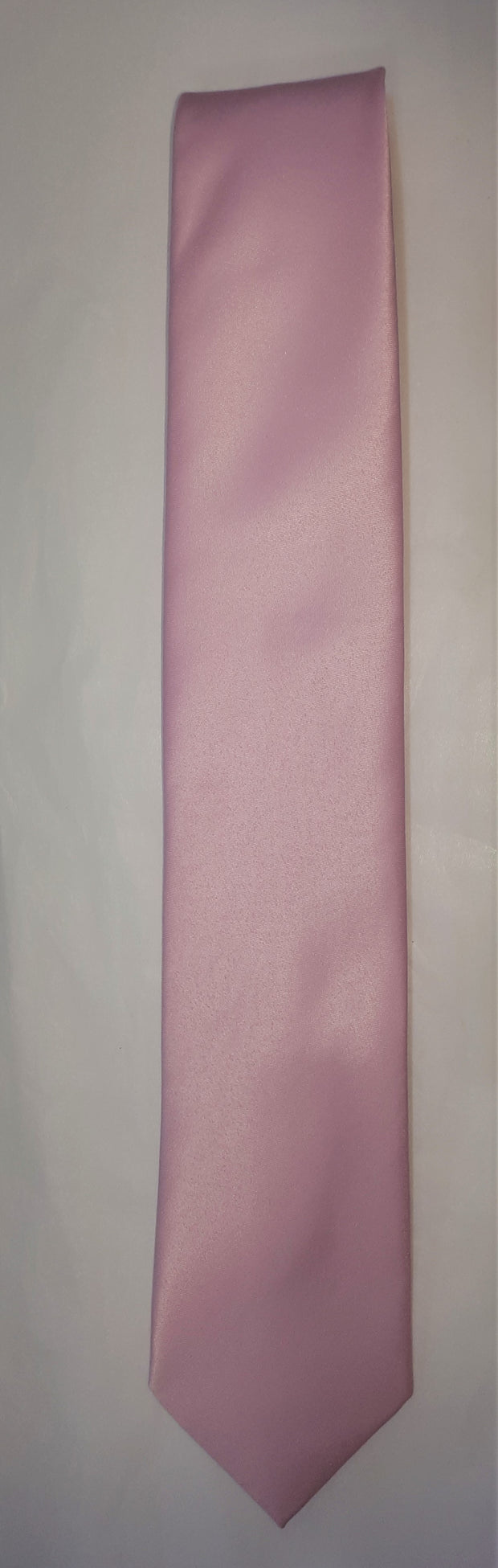 FORMAL SATIN TIE PINK