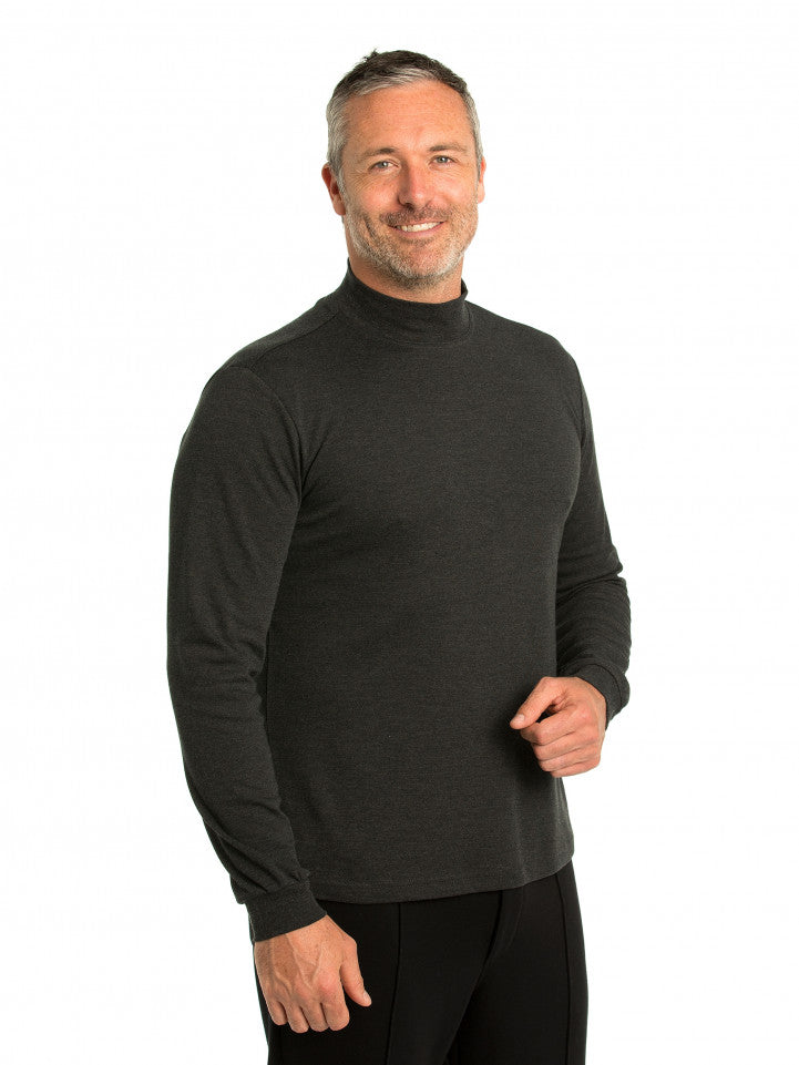 peter-webbers-menswear - WINTERLOCK SKIVVY - CLOTHING