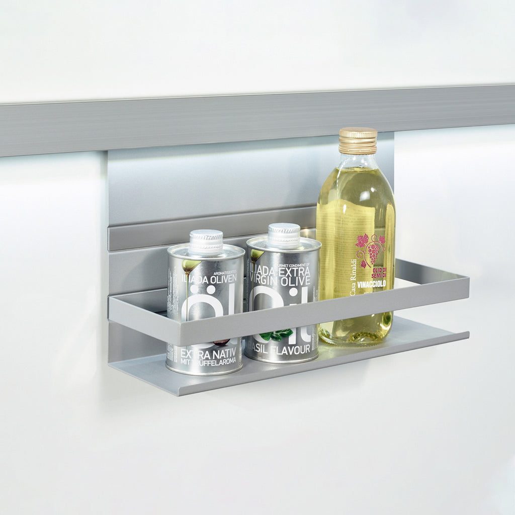 Universal Shelf with Railing