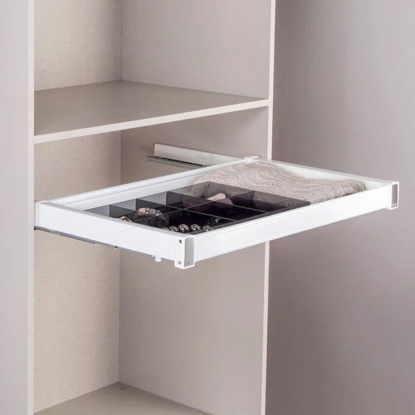 Pull-out tray set with height 70 mm