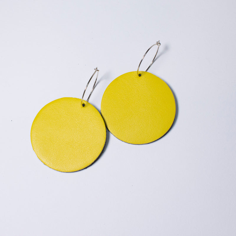 Full Moon Earrings Small | Assorted colours available