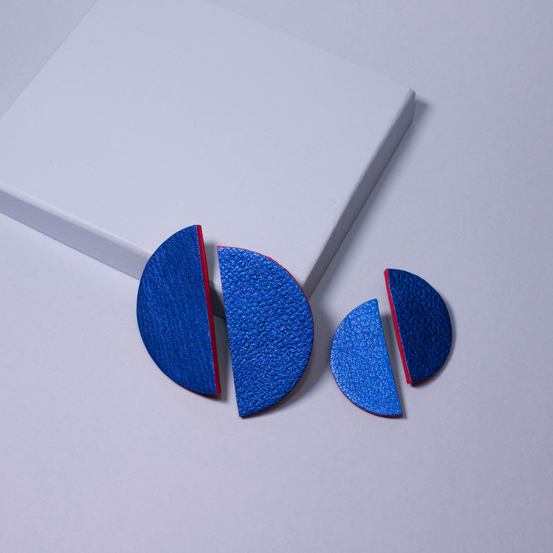 Bonita Earrings Small | Electric Blue-SMENA