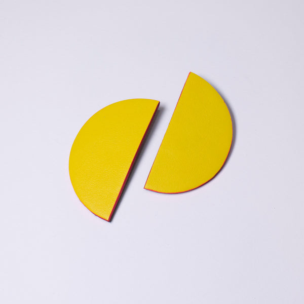 Bonita Earrings Large | Yellow