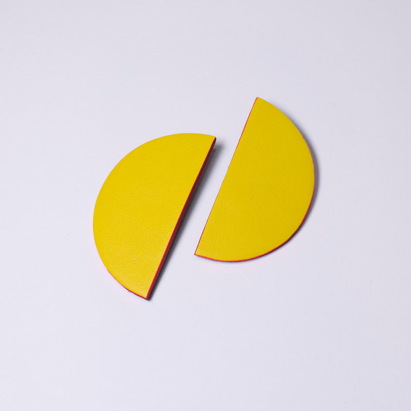 Bonita Earrings Large | Yellow-SMENA