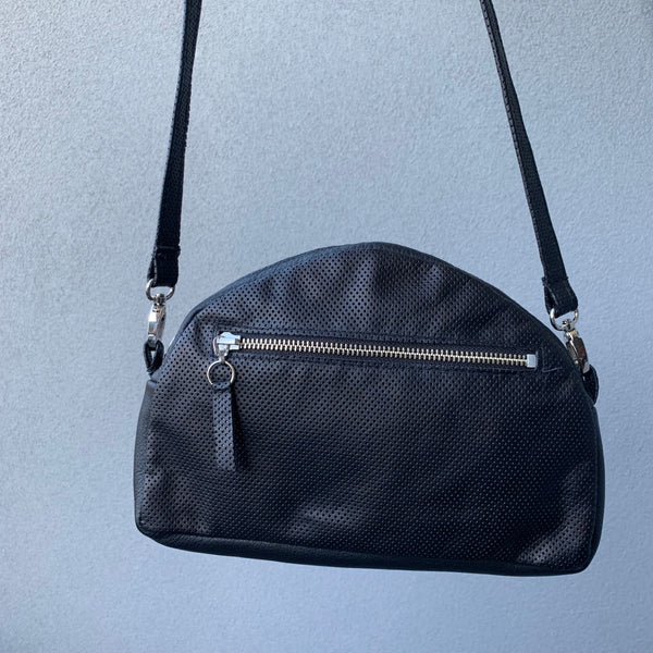 Silna | Convertible Bag | Black Perforated