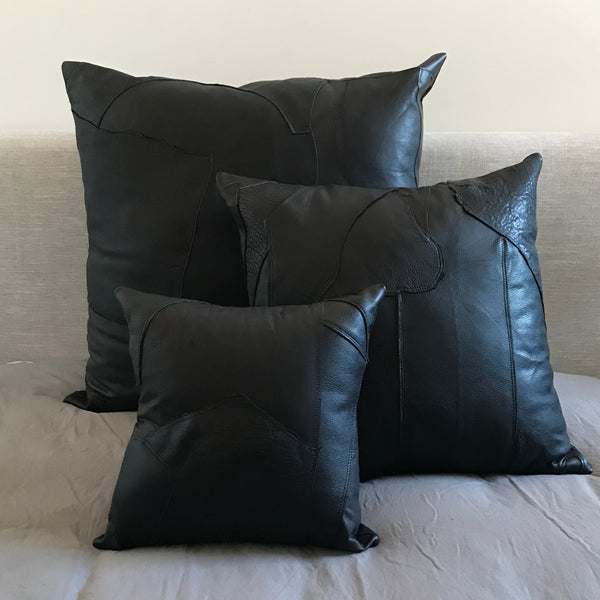 Zero Waste Cushion 40cm | Black