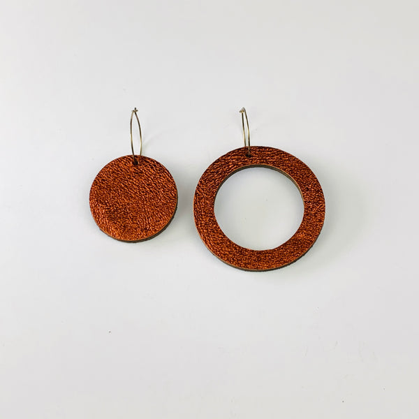 Geo Mini Circles Earrings | Assorted Colours available