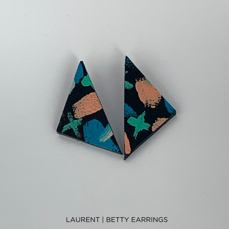 SMENA X CZxo | BETTY EARRINGS | 5 PAINTING DESIGNS